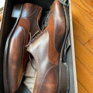 J.M. Weston Darby Two-tone shoe